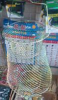 Садок для рыбы металлический, диаметр 25 см.