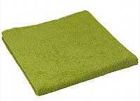 Махровое полотенце оливковое 70х140 см