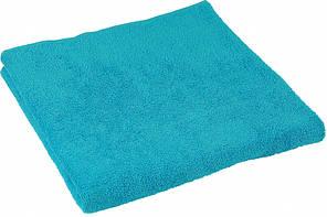 Махровое полотенце голубое 70х140 см