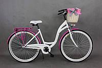 Велосипед Goetze BLUEBERRY 28 3-передачи + фара и корзина в подарок, фото 1