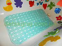 Антискользящий - массажный коврик аква