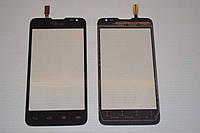 Оригинальный тачскрин / сенсор (сенсорное стекло) для LG Optimus L65 Dual SIM D285 (черный цвет) + СКОТЧ