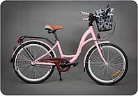 Велосипед Goetze 24 3B LEELOO + фара и корзина в подарок