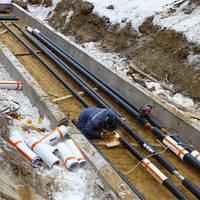 Прокладка наружных сетей водопровода