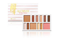 Набор теней, румян, бронзеров Illuminate by Ashley Tisdale Beach Goddess - 12 Color BH Cosmetics Оригинал