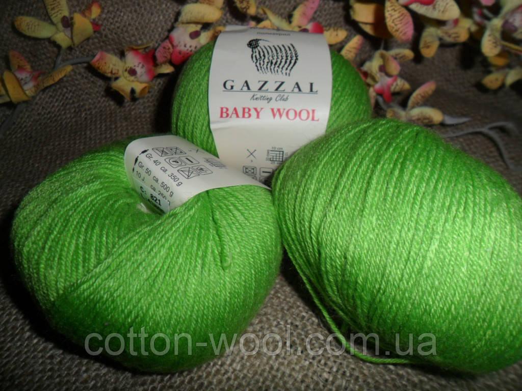 Gazzal Baby wool (Газзал беби Вул) 821