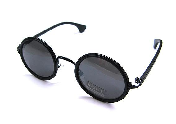 Солнцезащитные очки как у Лепса круглые Soul