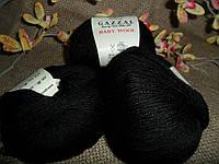 Gazzal Baby wool (Газзал беби Вул)  803 черный