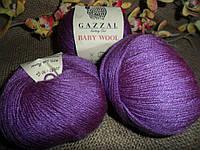 Gazzal Baby wool (Газзал беби Вул)  815 фиолет
