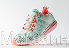 Женские кроссовки Adidas CC Gazelle Boost Sea Breeze Адидас Газель Буст зеленые, фото 3
