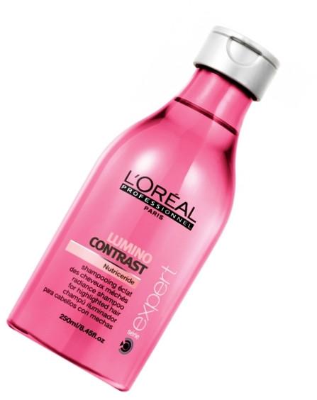"""Шампунь-сияние для мелированных волос """"L`Oreal"""" Lumino Contrast (250ml)"""