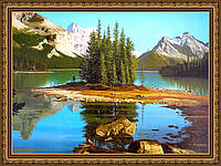 Картина Канадский парк. 300х400мм. №50