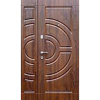 Входные полуторные двери для частного дома модель Optima Big (158)