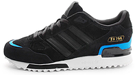Женские кроссовки Adidas ZX 750 Winter, aдидас ZX черные