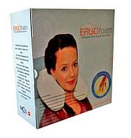 Подушка ортопедическая- валик Memory Foam - 27,5 х 32 см, фото 1