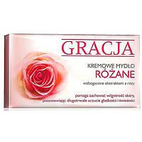 Крем-мыло туалетное с экстрактом розы Miraculum Gracja Rose