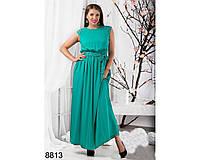 Женские летние платья макси большие размеры