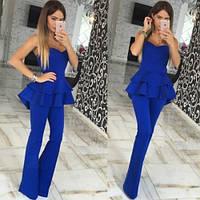 Комбез женский стильный 426 синий,магазин женской одежды