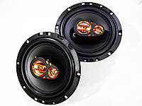 Яркие динамики Megavox MET-6574 230 Вт, 16 см 3-х полосные НОВЫЕ
