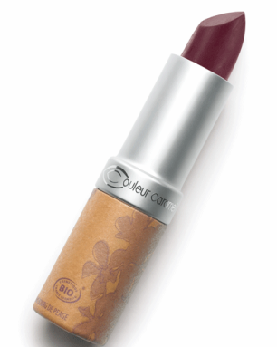 Помада матовая  n°124 - Бургундское вино Couleur Caramel
