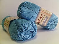 Ярна Азалия 50гр/165м 1090 голубой