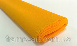 Креп-папір Італія 50см*2,5 м 40г 0294 помаранчевий