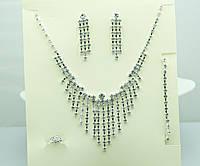 Полный комплект свадебных украшений от Бижутерии оптом RRR. 127
