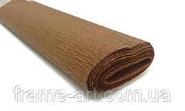 Креп-папір Італія 50см*2,5 м 40г 0243 коричневий