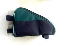 Cумка универсальная, с зеленой вставкой, фото 1