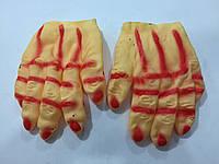 Прикол перчатки резиновые тонкие 21*17см