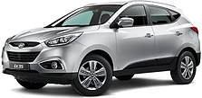 Пороги на Hyundai IX-35 (c 2010--)