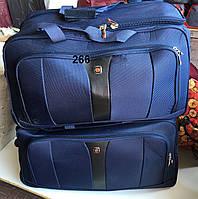 Дорожная сумка на колесах оптом - двойка, арт 266