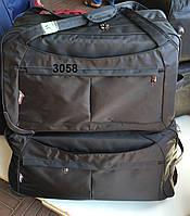 Дорожная сумка на колесах оптом - двойка, арт 3058