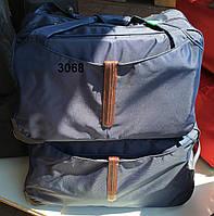 Дорожная сумка на колесах оптом - двойка, арт 3068