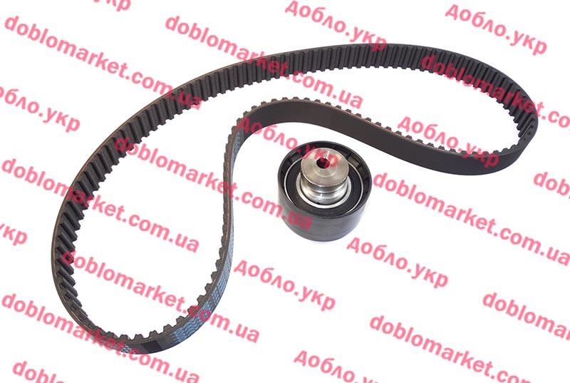 Комплект ГРМ 1.4i 16v Doblo 2009-, 1,4i Linea, 1.2i Siena (ремень+ролик), Арт. 94709+ATB1002, 71736717, DAYCO
