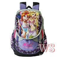 Школьный рюкзак для девочки WinX, Winner Stile сиреневый