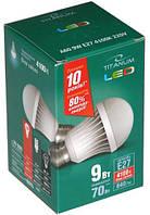 Лампочка LED 9 Вт E27 4100K 220В TITANUM TL-A60-09274