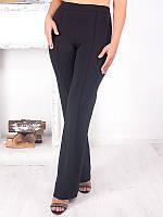 Строгие брюки больших размеров (рр 42-70) с высокой талией