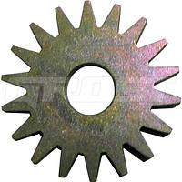 Звездочка стальная острозубая для фрезеровальных машин GROST