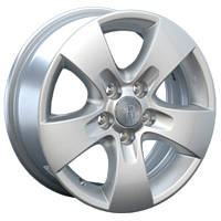 Литые диски Replay Skoda (SK10) W6 R14 PCD5x100 ET38 DIA57.1 silver