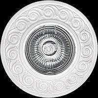 Светильник гипсовый [ Cast Light PL- 08 White ]  (есть цвет Antique Bronze)