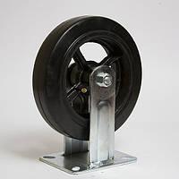 Колесо большегрузное резина черная неповоротное FCD 160