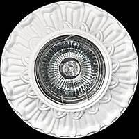 Светильник гипсовый [ Cast Light PL- 11 White ]  (есть цвет Antique Bronze)