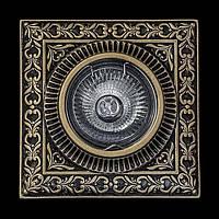 Светильник гипсовый [ Cast Light PL- 13 Antique Bronze ]