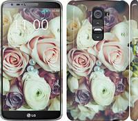 """Чехол на LG G2 Букет роз """"2692c-37"""""""