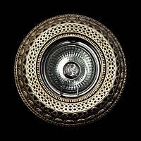 Светильник гипсовый [ Cast Light PL- 17 Antique Bronze ]
