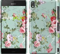 "Чехол на Sony Xperia Z3 D6603 Цветочные обои 2 ""862m-58"""