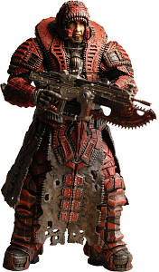 Marcus Fenix Theron Disguise - Gears Of War 2