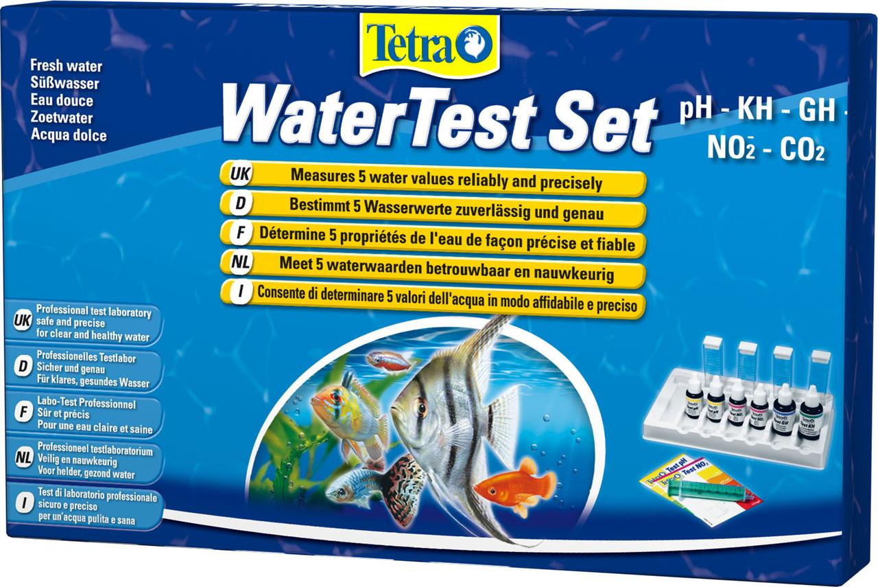 Tetra Water Test Set PLUS - лаборатория тестов для воды - Интернет-магазин «Моё дело» в Харькове