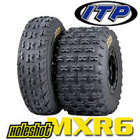 Мотошины ITP Holeshot MXR6 19/6-10  (Моторезина 19 6 10, мото шины r10 19 6)